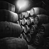 Barrels Of Port At Graham's Royalty Free Stock Photography