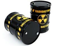 barrels radioaktivt Royaltyfria Bilder