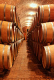 Barrels in a row Stock Photo