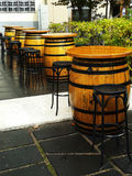Barrels in a Row Stock Images