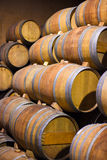 Barrels of South African wine Royalty Free Stock Photos