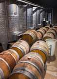 Barrels of South African wine Royalty Free Stock Images