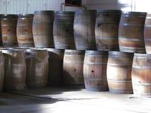 barrels trä Royaltyfri Fotografi