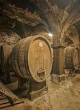barrels vieil en bois image stock