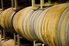 barrels vinodlingen arkivfoto