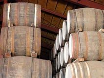 barrels whisky Royaltyfri Foto