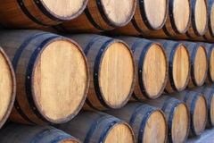 Barrels of wine Royalty Free Stock Image