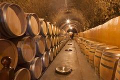Barrels of wine Stock Photos