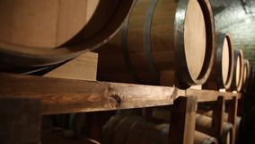 Barrels_012 stock footage