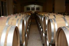 Barrels of wine Stock Photography