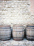 Barrels of wine Stock Photography