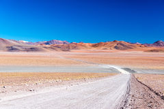 Barren and Colorful Landscape Stock Photography