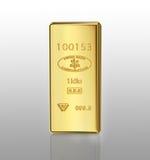 Barren des Gold Bar Lizenzfreie Stockfotografie