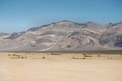 Barren Desert. A barren valley in death valley national park california Stock Photos