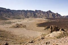 Barren desert Stock Photo