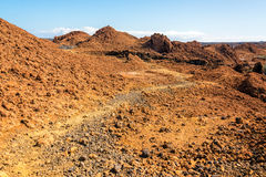 Barren Galapagos Landscape Stock Photo