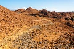 Barren Galapagos Landscape Stock Photo