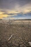Barren ground sunset Royalty Free Stock Photo