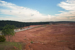 Barren land Royalty Free Stock Image