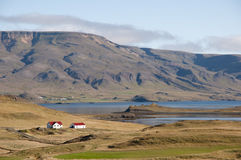 Barren land of west coast Iceland Stock Photos