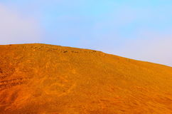 Barren landscape in Barentsburg, Spitsbergen Royalty Free Stock Photo