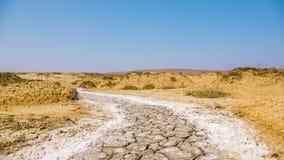 Barren Landscape in Crimea stock video footage