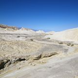 Barren landscape in Death Valley. Stock Images