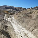 Barren landscape in Death Valley. Stock Image