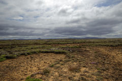 Barren landscape Stock Photo