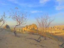 Barren landscape in Turkey Royalty Free Stock Image
