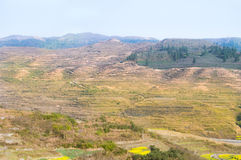 Barren mountain Stock Image