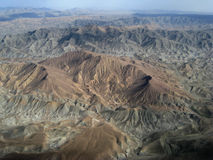 Barren Mountains Afghanistan Royalty Free Stock Photo