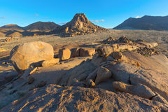 Barren Rock Country Royalty Free Stock Photography