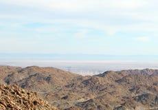 Barren Southern California landscape Stock Photo