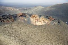The barren volcanic landscape Stock Photos