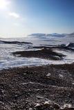 Barren Winter Landscape stock image