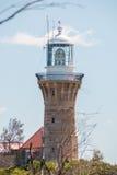 Barrenjoey灯塔,棕榈滩,澳大利亚 免版税库存照片