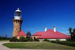 Barrenjoey Head Lighthouse Stock Photo