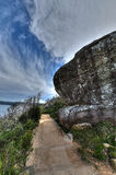 Barrenjoey Headland. Bareenjoey, near Palm Beach, Sydney Royalty Free Stock Photo