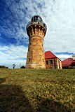 Barrenjoey Leuchtturm lizenzfreie stockfotos