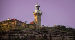 Barrenjoey Light House, Palm Beach, Pittwater Stock Photo