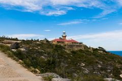 Barrenjoey Lighthouse Royalty Free Stock Photography