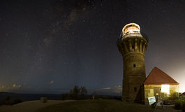 Barrenjoey lighthouse Stock Photos