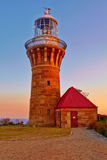 The Barrenjoey Lighthouse Royalty Free Stock Photos