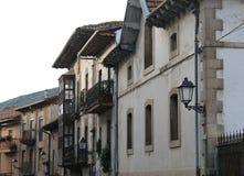Barrenkale kalea, Artziniega  Basque Country Royalty Free Stock Images