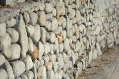 Barrera de piedra Imagen de archivo libre de regalías