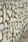 Barrera de piedra Imágenes de archivo libres de regalías