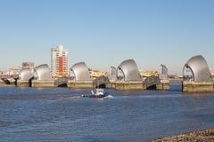 Barrera de Thames, Londres Fotografía de archivo libre de regalías