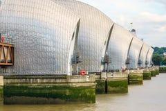 Barrera del Támesis en Londres, Reino Unido Fotos de archivo