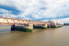 Barrera del Támesis en Londres, Reino Unido Fotografía de archivo libre de regalías